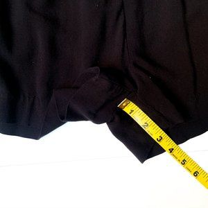 H&M Shorts - H&M pull on black shorts w/side pockets size 6